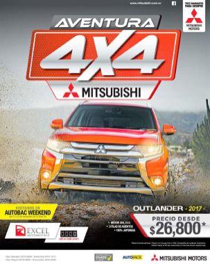 Adventure 2017 mitsibishi outlander 4x4 truck