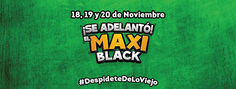 Black Friday 2016 MAXI Despensa el salvador