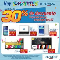 Promociones SMART de ahora martes en tiendas PRADO