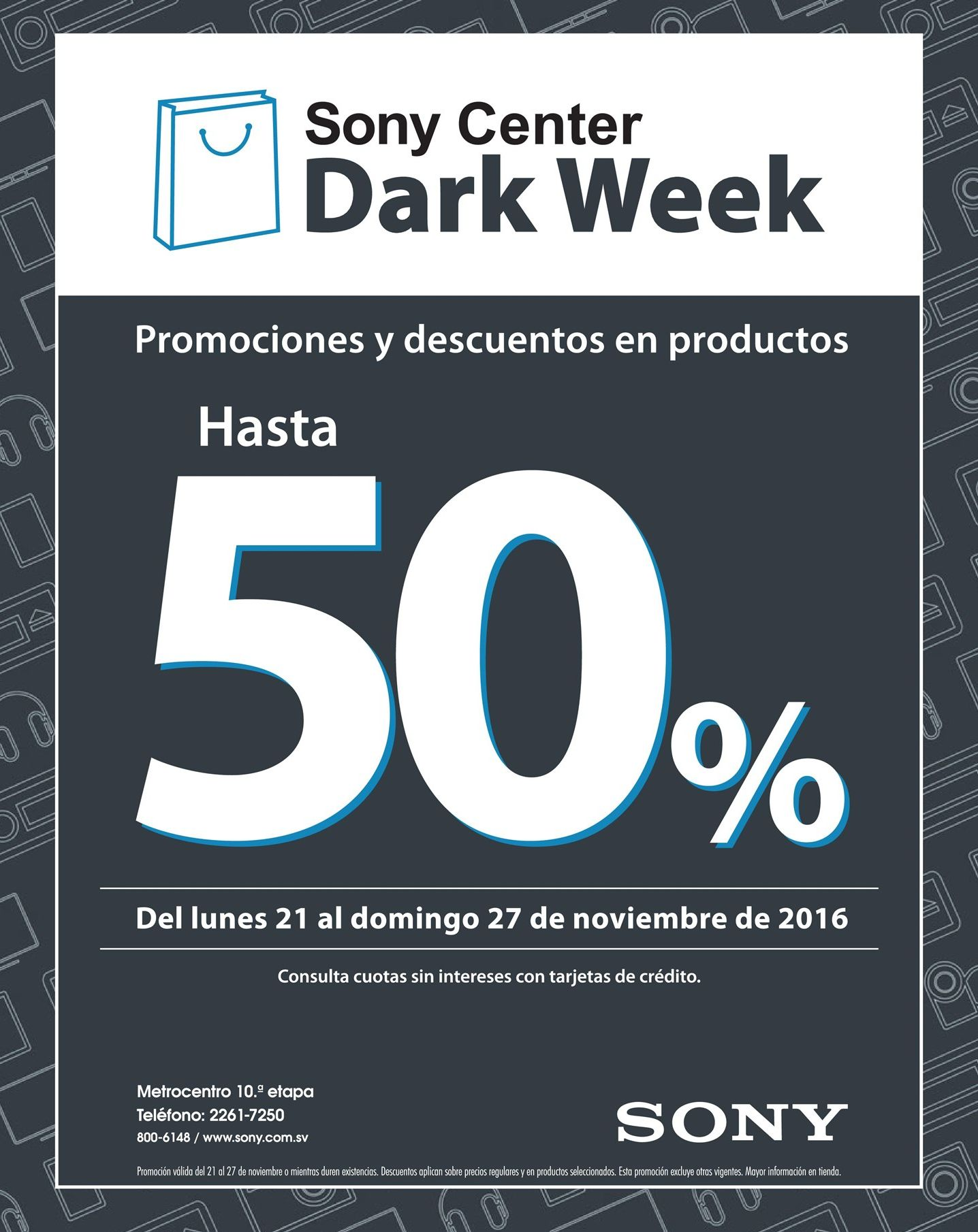 sony-center-black-dar-week-2016-descuento-50-off-hasta-el-27-nov