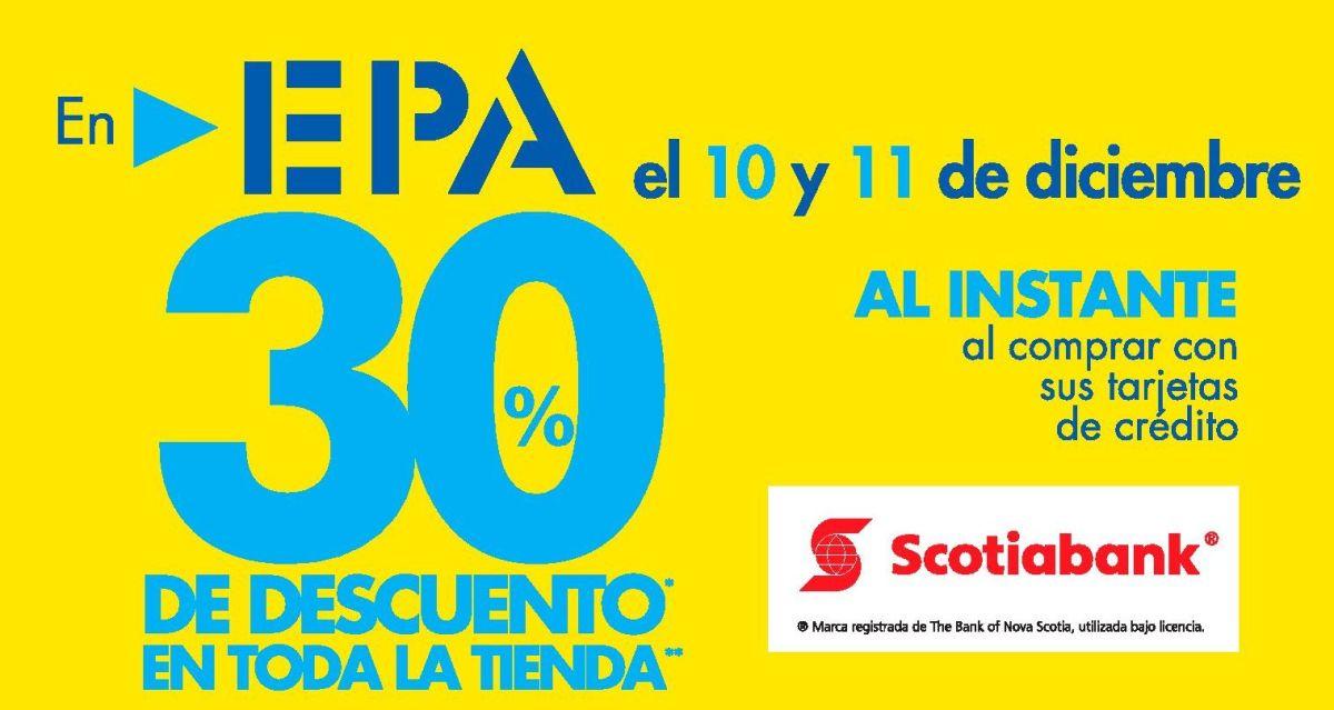 Ferreteria EPA buenos DESCUENTO de Fin de Semana (10 y 11 de Diciembre 2016)