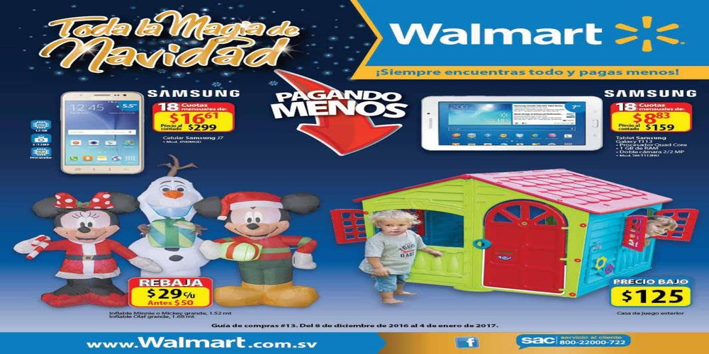 WALMART tiene toda la magia de navidad 2016
