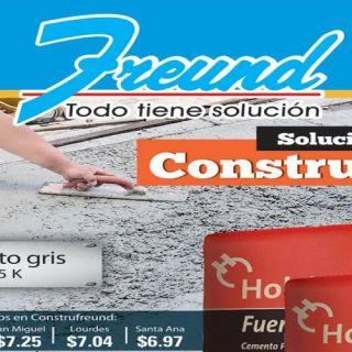 FREUND catalogo de soluciones para la construccion