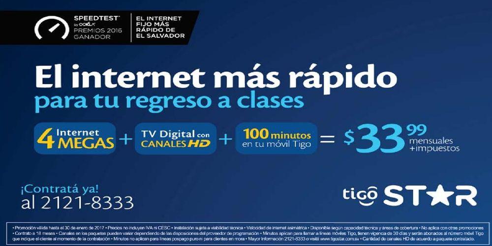 Tigo Star Promocion 4 Megas De Internet Para Regresar A
