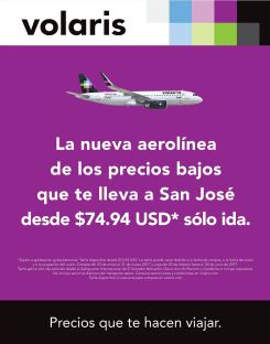 VOLARIS la nueva aerolinea de los precios bajo