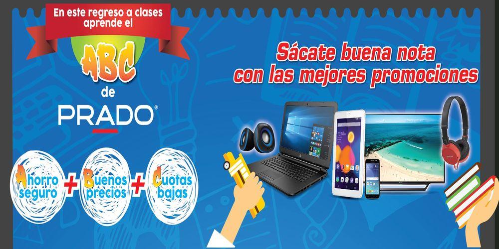 Promociones PRADO ABC escolar y Emprendimiento de tu negocio 2017