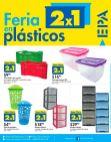 AHORA feria de plasticos 2x1 en ferreteria epa - 10feb17
