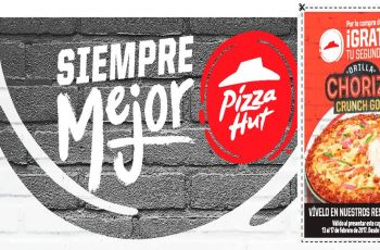 CUPON pizza hut gratis aniversario 2017