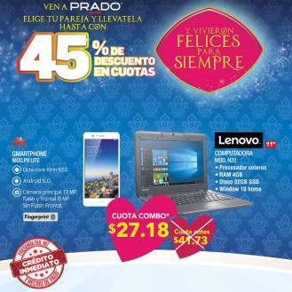 La pareja ideal smartphone y laptop nueva en san valentin