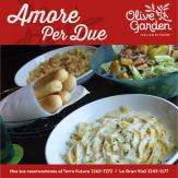 amore per due italian restaurant olive garden