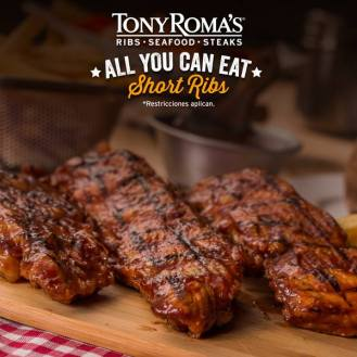 tony romas RIBS all you can eat