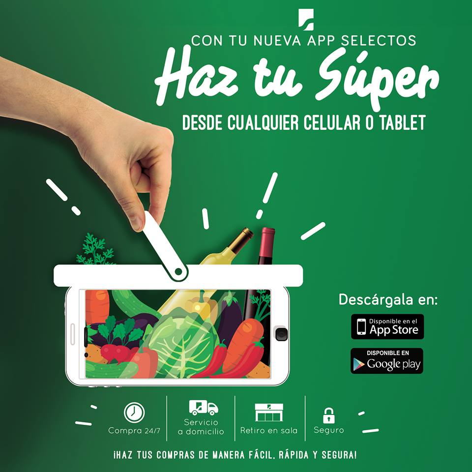 Descargar nueva aplicacion SUPER SELECTOS App