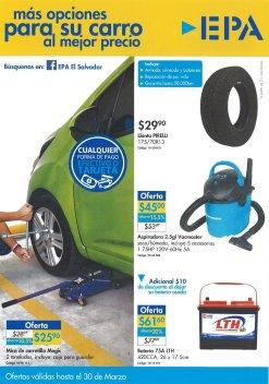 Ferreteria EPA ofertas para su carro - marzo 2017