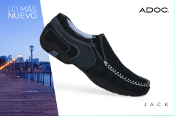 JACK flat shoes for gentlemans by ADOC
