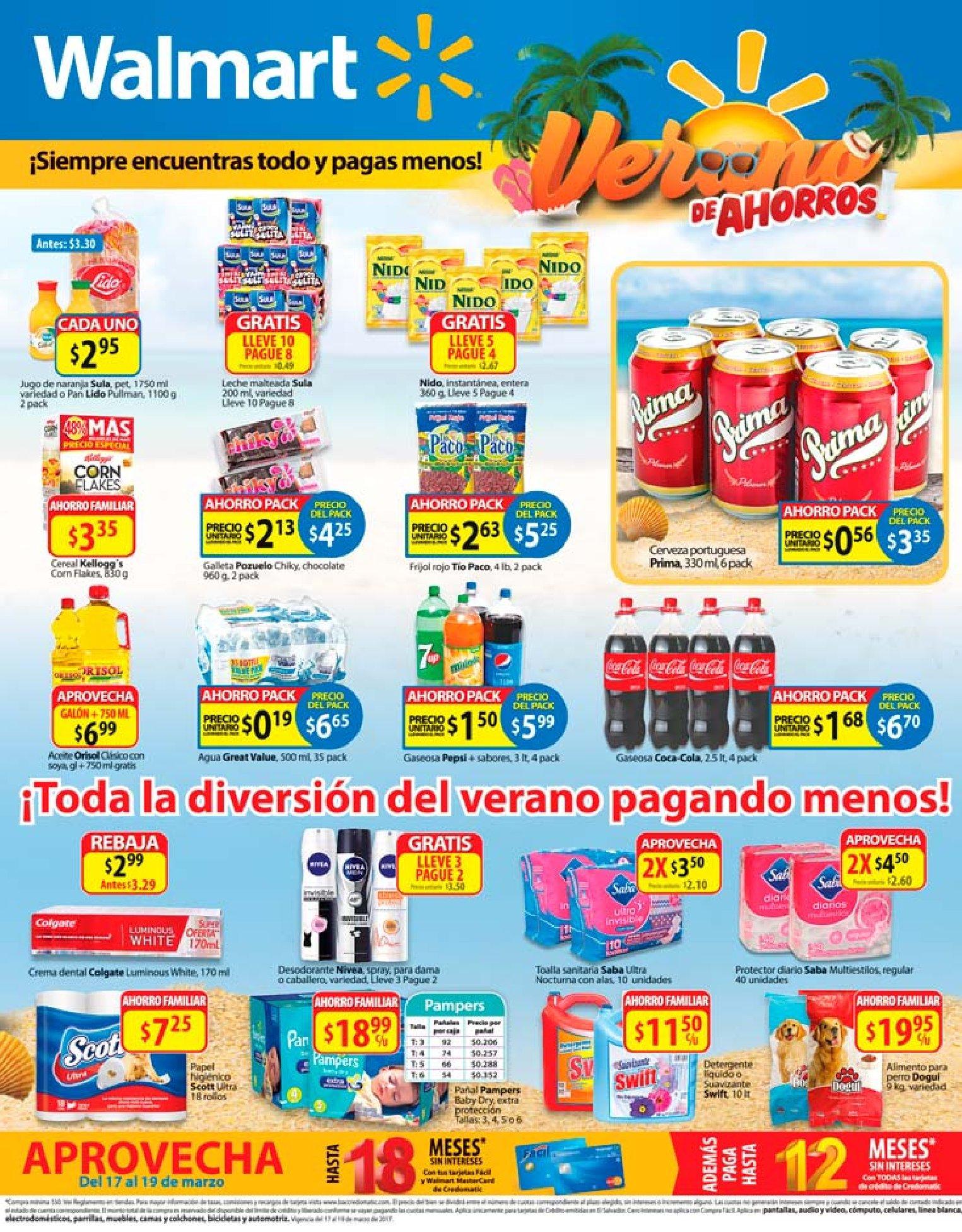 Division De Productos En Walmart