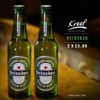 Promociones en cervezas HEINNEKEN el salvador