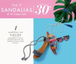 TREND shoes sandals with flecos