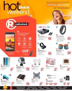 ardientes Ofertas RADIO SHACK este finde hoy shack weekend 2017