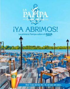 Restaurante LA PAMPA costa del sol el salvador
