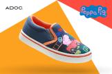 Tiendas ADOC nuevos estilos de zapatos de la PEPPA PIG