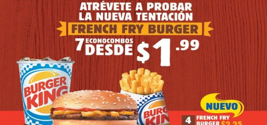 combos para comer en burger king el salvador