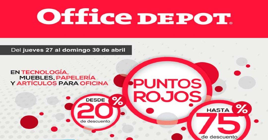 Office Depot DESCUENTOS en muebles, tecnologia y mas!!!