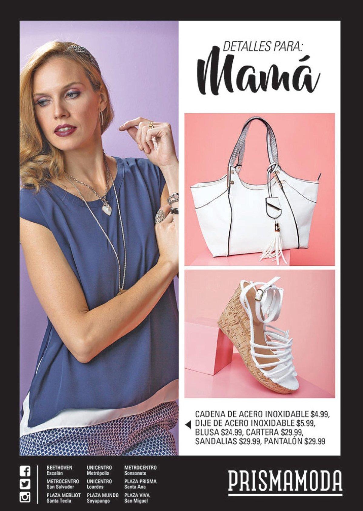 Detalles para mama en mayo 2017 prisma moda