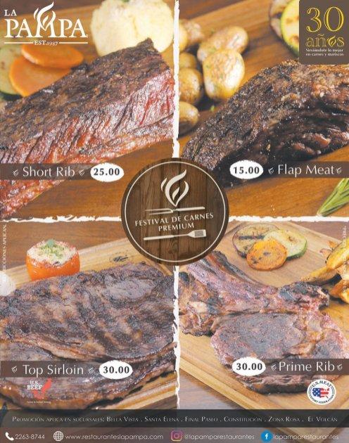 LA PAMPA restaurante FINDE parrilladas con carnes premium