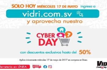 almacenes vidri el salvador CYBER day 2017