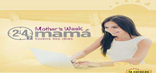 Catalogo MOTHER's WEEK de La Curacao (Mayo 2017)