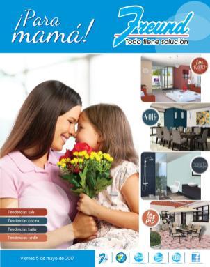cuadernillo Ofertas FREUND para mama en su dia 2017