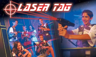 entertaiment game for all family lasertag
