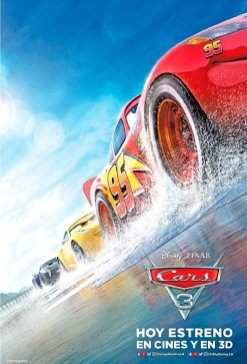 CARS 3 the movie 2017 power by Disney PIXAR