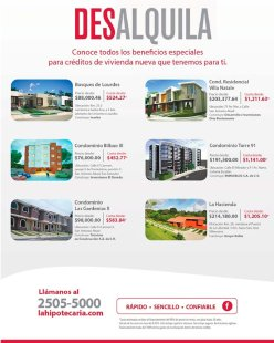 Comprar o Alquilar casa en san salvador tu decides