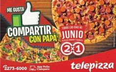 JUNIO se come tele pizza al 2x1