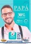 LUCE a papa con sus nuevo anteojos de la curacao