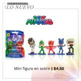 MINI figuras PJ MASK serie by DIsney Junior tv