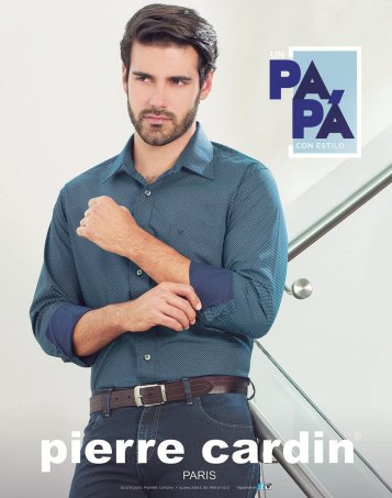 PAPAS con estilo casual camisas pierre cardin PARIS