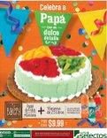 POstres y Pasteles del super selectos BAKERY dia del padre