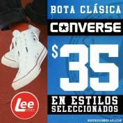 bota clasica CONVERSE desde 35 dolares