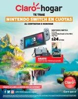 CLARO HOGAR promocion Nintendo SWITCH en cuotas