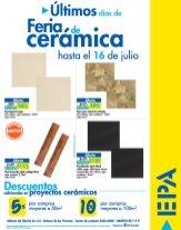 EPA ULTIMOS dias de las ofertas de la feria de ceramica