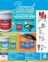 FREUND impermeabilizador y termoreflectante AQUALOCK 8000