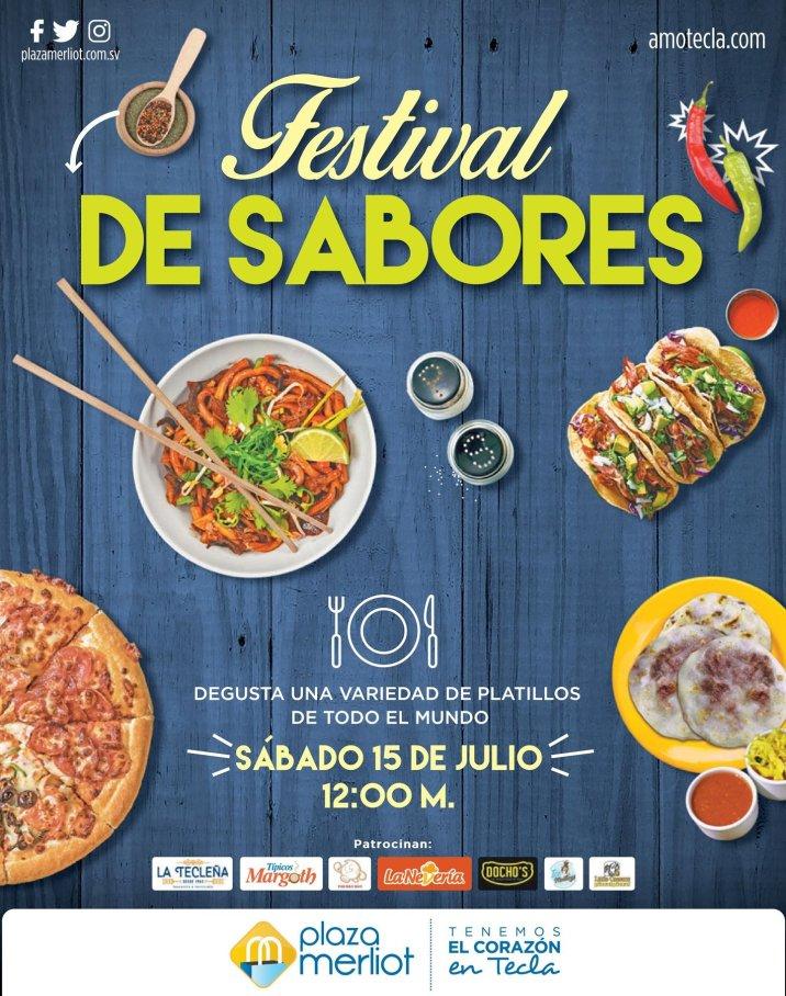 Festival de sabores 2017 en plaza merliot el salvador