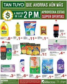 Las ofertas del viernes inician a las 2pm en SUPER SELECTOS