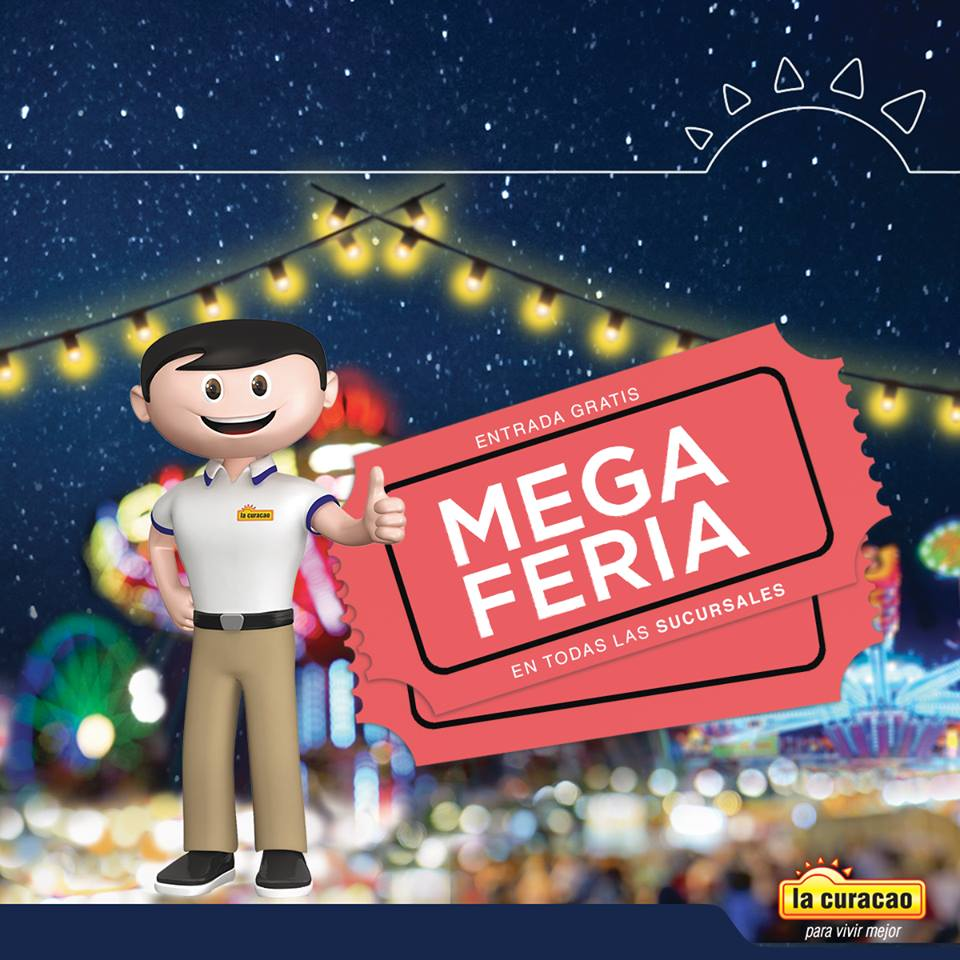 La Curacao presenta su catalogo MEGA FERIA Agostina 2017