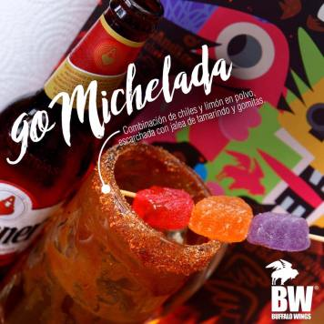 MICHELADAS CON CHICLE Y LIMON DE BW