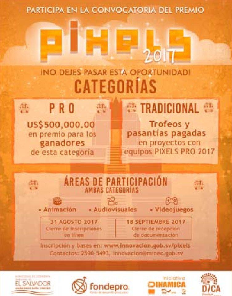 PEXELS 2017 convocatoria de concurso de innovacion