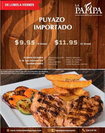 Restaurantes LA PAMPA corte de puyazo importado OFERTA