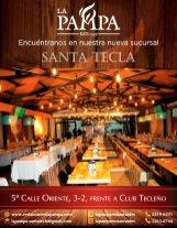 nuevo restaurante LA PAMPA santa tecla frente al club tecleño